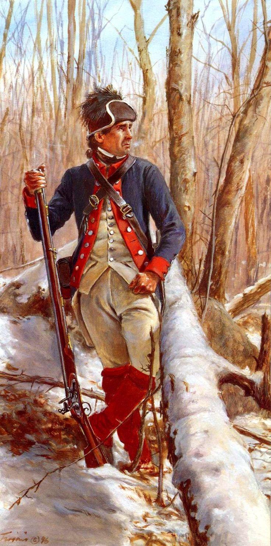 Black Irishman of the 2nd Pennsylvania (Continental Army) 1778- by J Bravos