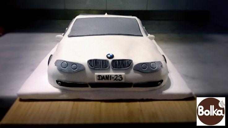 Decorated cake/dísztorta (BMW)