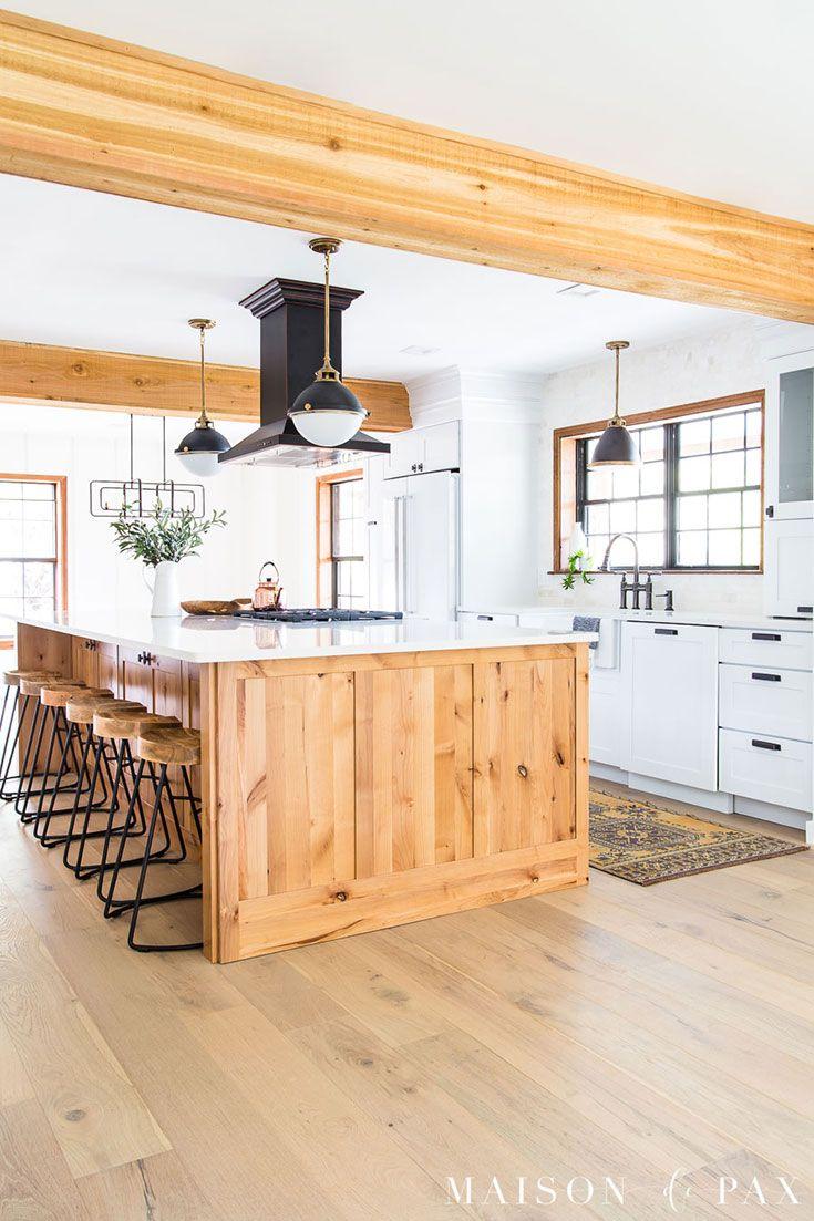 Rustic Modern Kitchen Cabinets Modern Farmhouse Kitchens Shaker