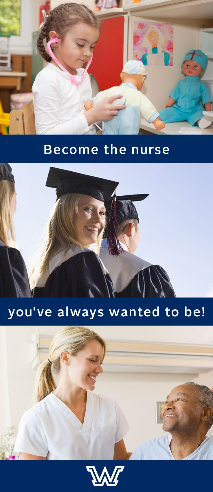 Nurses: Earn your advanced nursing degree online! Our online nursing programs are designed for the busy, working nurse. Take classes at home and complete clinicals where you work. You can really do this!