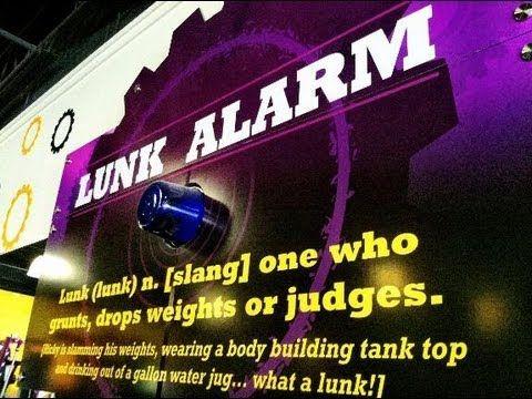 PLANET FITNESS LUNK ALARM TROLLING - Awkward Gym Moments