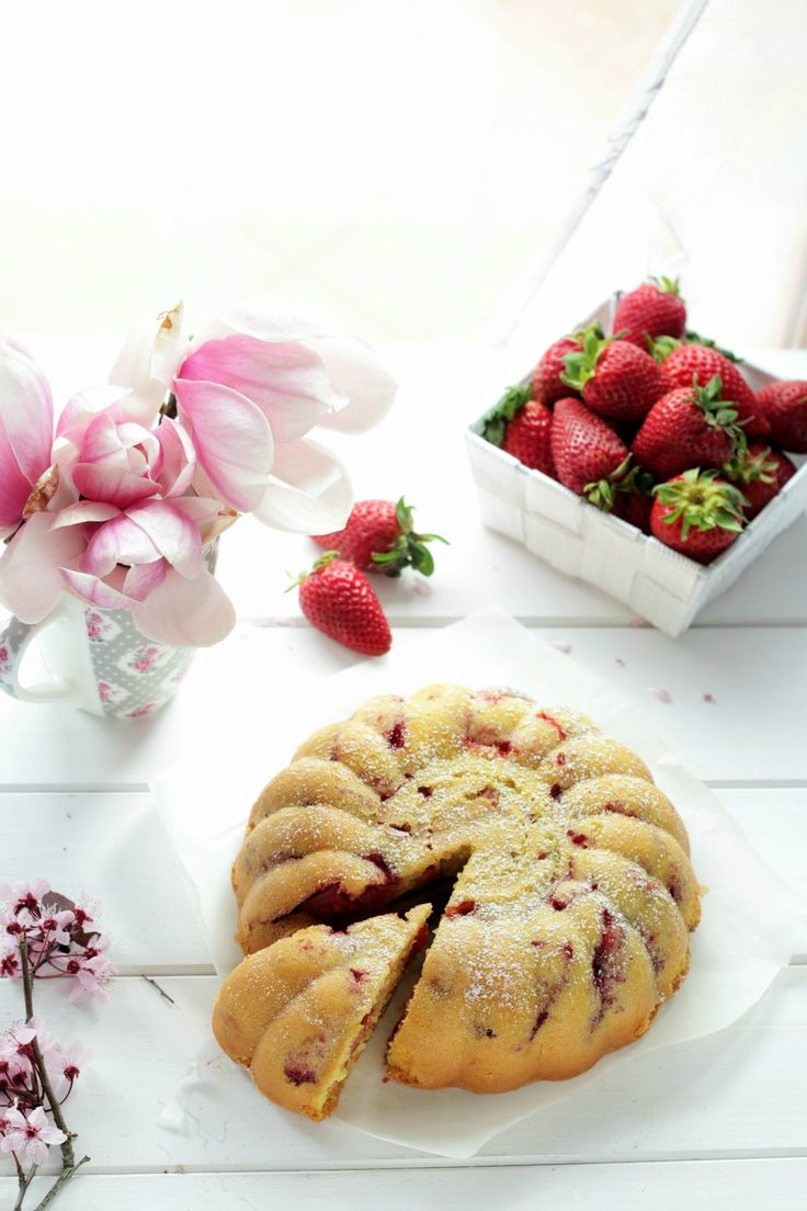 Torta sofficissima alle fragole   Le ricette di mamma Gy