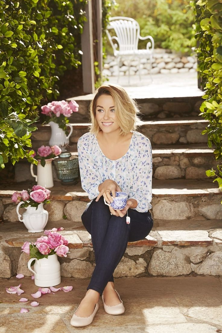 Lauren Conrad is one of my idols. She's so crafty I want to be her! Everything she does is way too cute.
