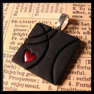 Polymer Clay Jewelry Designs | Polymer Clay Chameleon: February 2009