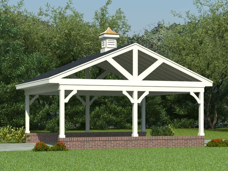 Best 25 carport garage ideas on pinterest port image for Open carport plans