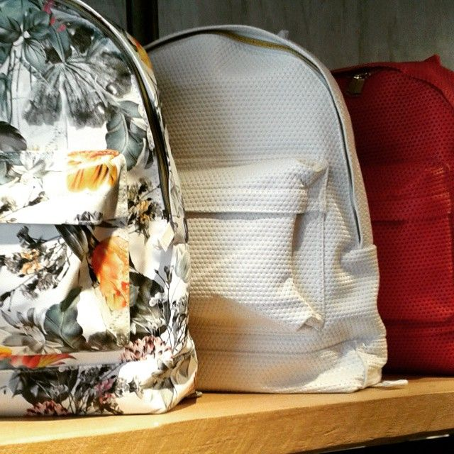 Spring is here, fancy a floral, white, red mipac backpack? More options at #districtconceptstore xar. trikoupi 34-36 ioannina greece. Official retailer of mi pac greece.