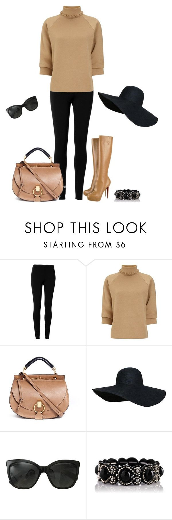 """""""Wann kommt der Winter?"""" by julcheen ❤ liked on Polyvore featuring Max Studio, J.W. Anderson, Christian Louboutin, Chloé and Chanel"""