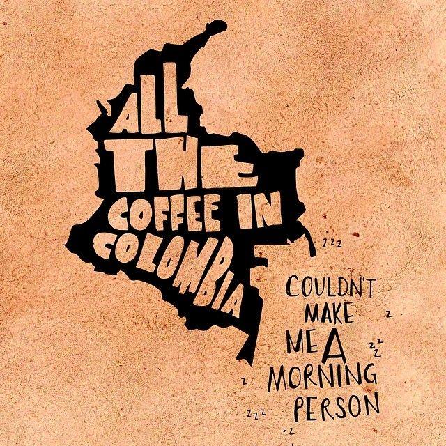 #typography #handdrawntypography #illustratedtypography #handdrawn #handlettering #moderndaymonk #lettering #coffee #ilovecoffee #colombia #...