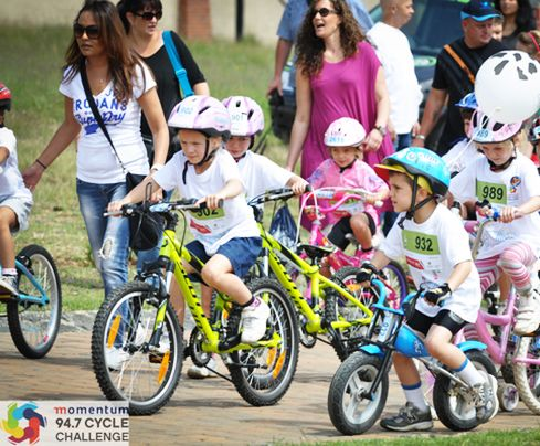 Momentum 94.7 Cycle Challenge - Kiddies Ride | http://www.spur.co.za/about-us/events