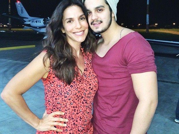 Ivete Sangalo e Luan Santana (Foto: Reprodução/Instagram)