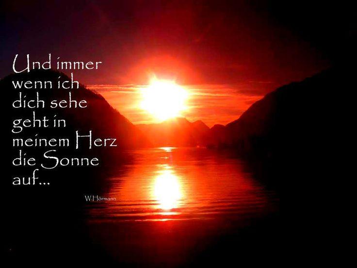 Und Immer Wenn Ich Dich Sehe, Geht In Meinem #herz Die #sonne Auf