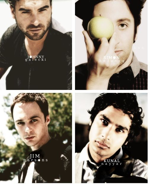 Boys from The Big Bang Theory...nerdsexy!