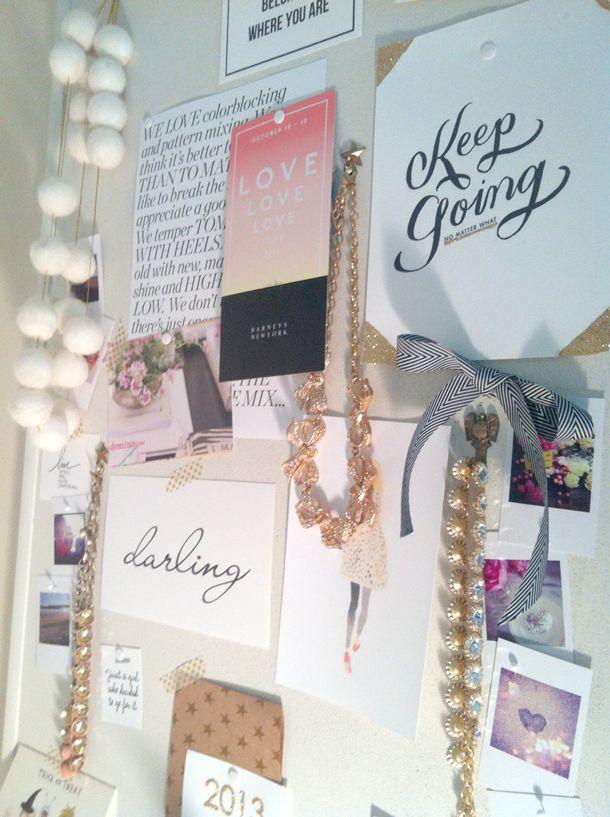 Inspiration board: