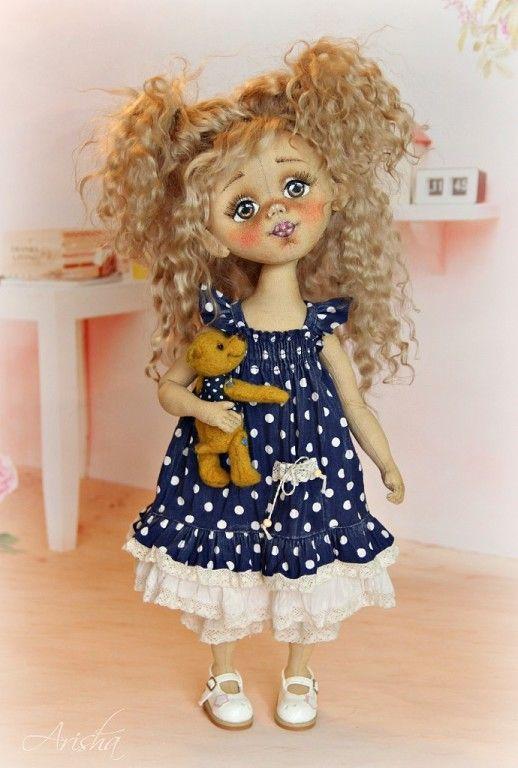 Аришa авторские куклы - Авторские куклы и мишки | OK.RU