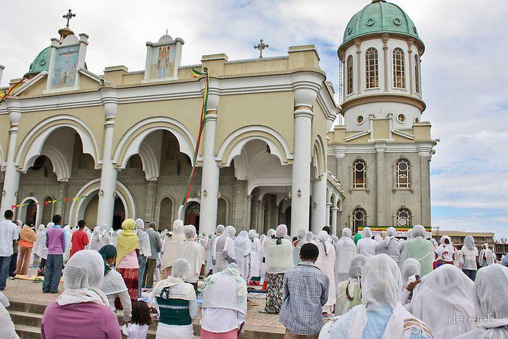Ethiopian Orthodox Good Friday mass