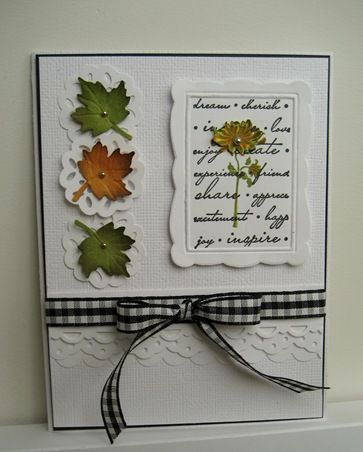 autumnCards Fall, Cards Design, Fall Leaves, Scallops Layered, Fall Cards, Focal Point, Autumn Cards, 001, Leaf Cards
