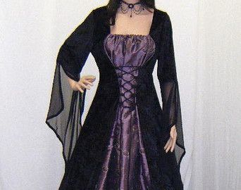 WICCAN MENS WEDDING ROBES | medieval handfasting dress renaissance pagan wiccan wedding custom