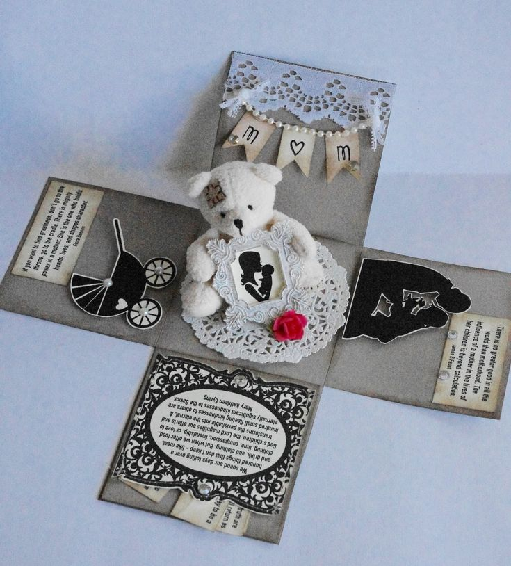 """Creative """"Try""""als: Mom Themed Explosion Box"""