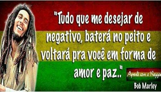 Frases do Rei Bob Marley