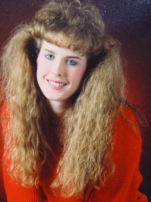 "This used to be me...In High School.  I'm afraid someone will post my pic on the Awkward family photo's board.  But I was in ""Style.""  Hee hee"