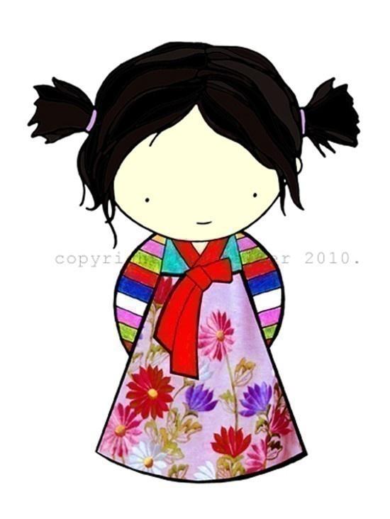 Britney Spears Wear Hanbok Korea CartOOn Version by Boy ...