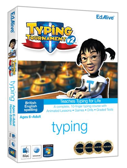 Typing Tournament v2 | Learn to type