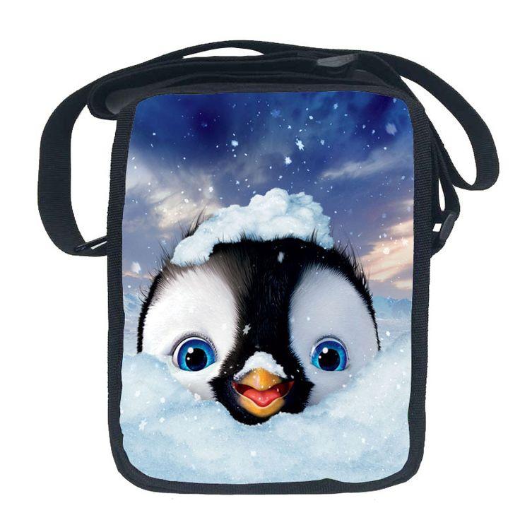 Funny Happy Feet Messenger Bags for Kids shoulder bags purse for children kawaii cartoon design crossbody bags for teenager girl - Top Kawaii - Best Online Kawaii Shop Top Kawaii - Best Online Kawaii Shop