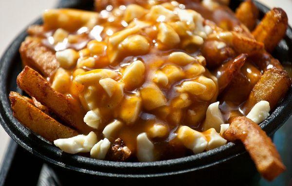 Quebec, Canada, Yummy Food, Poutine, Gravy, French Fries, Gluten Free, Cousins, Drinks