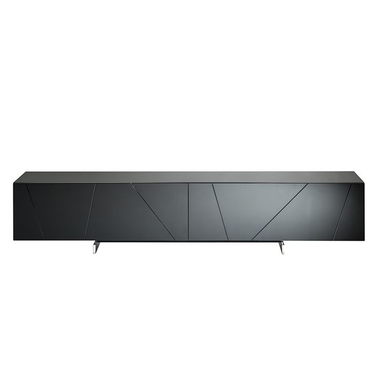 tv lowboard h ngend schwarz interessante. Black Bedroom Furniture Sets. Home Design Ideas