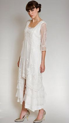 Gorgeous Vintage Inspired Titanic mother of the bride dress - Glitter & Lace