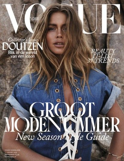 Vogue Maart 2015 - Cover 3 - Vogue Maart 2015 Preview - Nieuws - Fashion  - Dutch Vogue March Issue 2015 - Doutzen Kroes