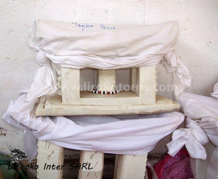 Chair used by voodoo people