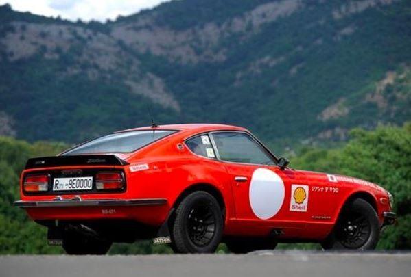 Monte Carlo Style: 1971 Datsun 240Z Works Replica