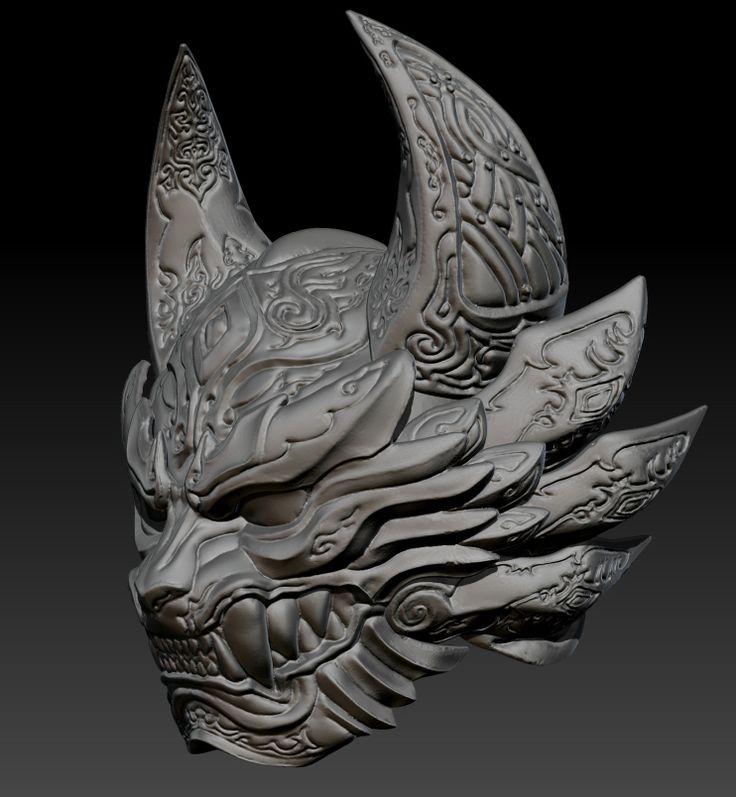 GaRo  helmet  3D Art Work  https://www.facebook.com/Arton3D/
