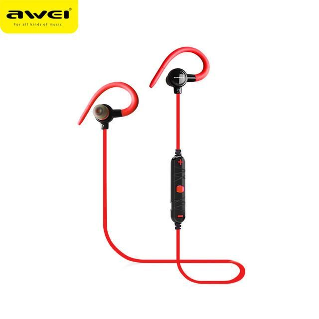 AWEI A620BL In-Ear Wireless Headphones Bluetooth Earphones For Phone With Microphone fone de ouvido ecouteur Ear hook Headset