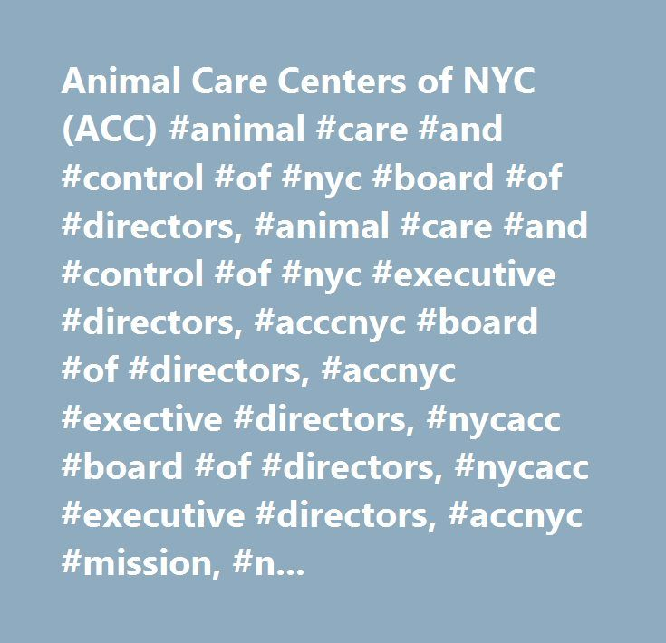 Animal Care Centers of NYC (ACC) #animal #care #and #control #of #nyc #board #of #directors, #animal #care #and #control #of #nyc #executive #directors, #acccnyc #board #of #directors, #accnyc #exective #directors, #nycacc #board #of #directors, #nycacc #executive #directors, #accnyc #mission, #nycacc #mission, #animal, #care, #control, #animal #care #and #control #of #nyc, #animal #care #and #control #of #new #york #city, #new #york #city #animal #care #and #control, #center #for #animal…