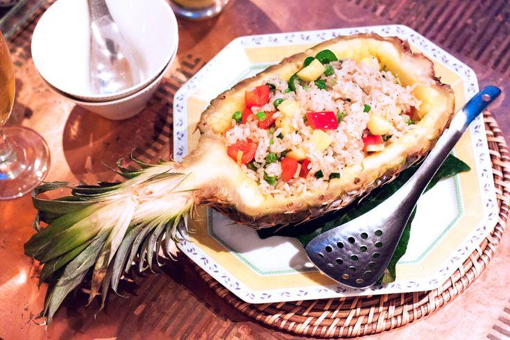 vietnam alice ginza, tokyo, japan, vietnamese restaurant in tokyo, vietnamese food, pineapple rice
