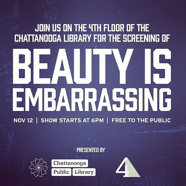 Tomorrow! Come win free tickets to Wayne's Keynote on Saturday night at the TopConference! Then sit back and be inspired by this hilarious but compelling documentary.  #waynewhite #beautyisembarrassing #topcon2015 #aigacha #creativelife #library #freemovie #artistsinthelibrary #dowhatyoulove #downtownchattanooga #cha