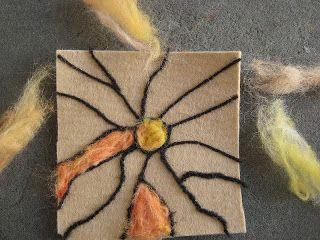 kaystir: Flat Needle felting tutorial