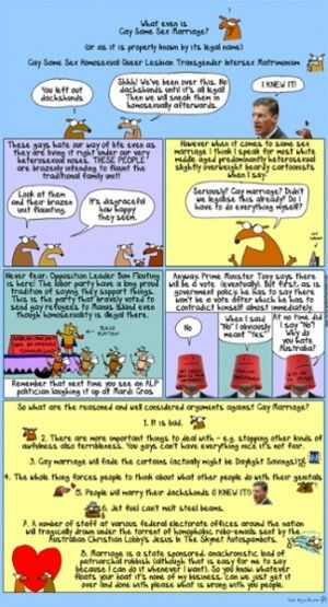 The reasoned, considered arguments against same-sex marriage | First Dog on the Moon | Comment is free | The Guardian