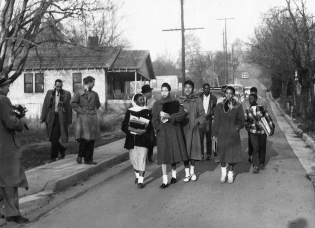 The Clinton Twelve. One of the first high schools to integrate was located in Clinton, Tennessee.