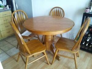 kitchen table starting from nothing free from craigslist pinterest kitchen tables the. Black Bedroom Furniture Sets. Home Design Ideas