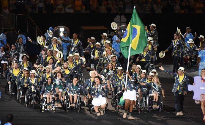 Cerimônia de abertura da Paralimpíada Rio 2016 - Shirlene Coelho Brasil (Foto…
