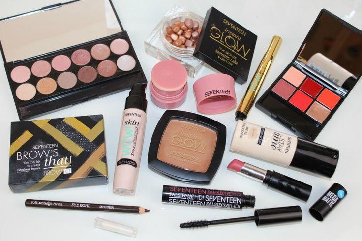 Seventeen Makeup One Brand Tutorial - http://pinkparadisebeauty.blogspot.co.uk/2016/10/one-brand-drugstore-autumn-makeup.html