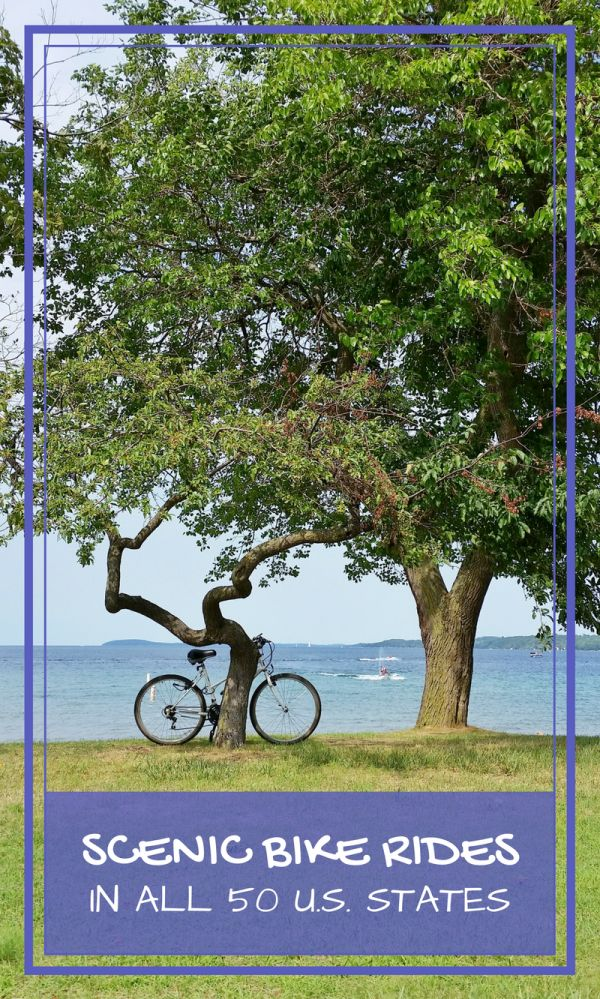 Here is a list of cycling ideas for the US, with recommended bike routes for each of the 50 states that will provide you with a scenic bike ride. There are just so many places to choose from that would make a memorable cycling vacation and cycling destination!