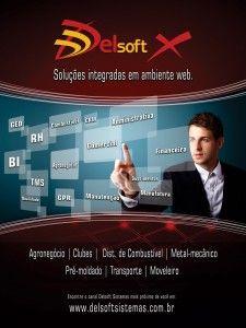 A Delsoft Sistemas lançou em 2012 a versão web de seu ERP, o Delsoft X. Focado na mobilidade e na credibilidade das informações geradas, o software vem conquistando mercado e demonstrando aos empresários uma nova modalidade: a administração móvel.  Delsoft Sistemas - Tecnologia sem limites...