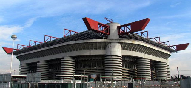 San Siro stadium is a must-see in Milan for all the football fans visiting the city. It hosts amazing exhibitions about the history of F.c.Inter and A.c.Milan.