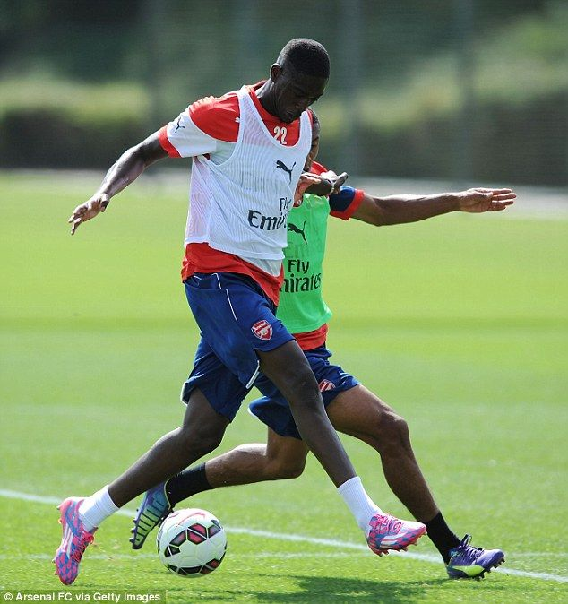 Point to prove: Yaya Sanogo will be hoping for a better season in front of goal than he ma...