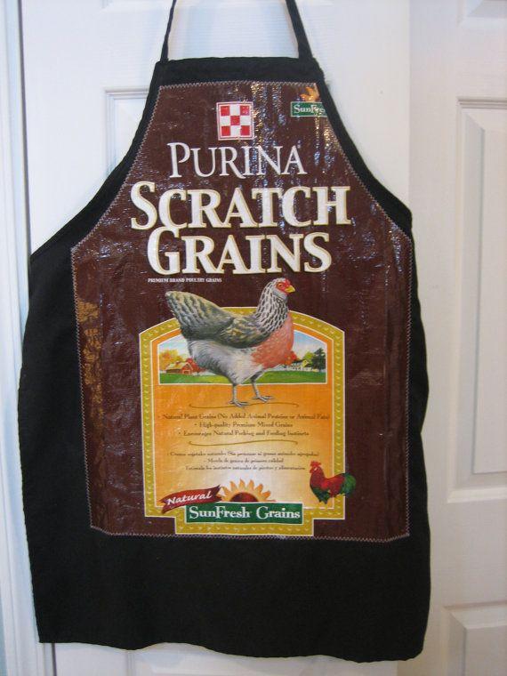 Chicken Feed Bag Crafts