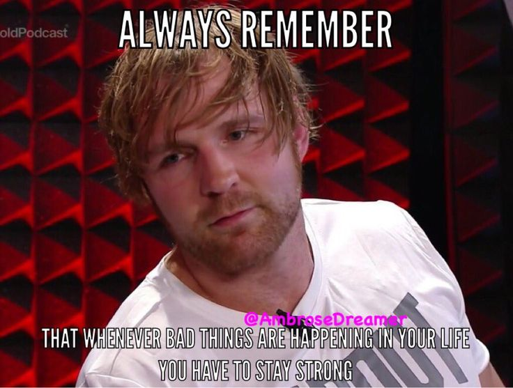 (18) #deanambrose - Twitter Search